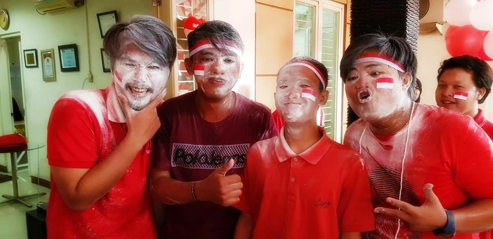 Semarak Peringatan HUT RI 73 - PT Berkah Purnama Sewu (Kebab Alibaba)