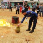 Safety First Kebab Alibaba Gelar Simulasi Pencegahan Kebakaran