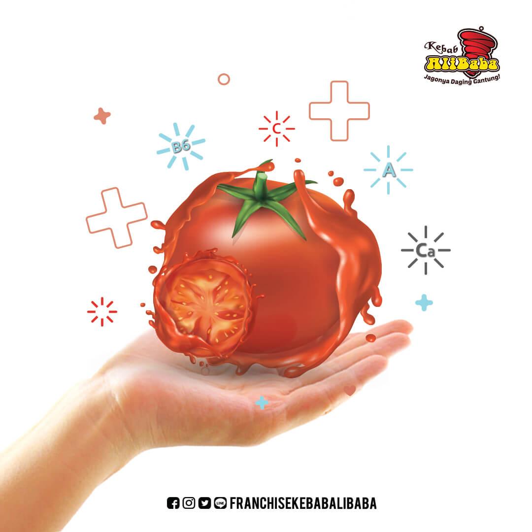 Segarnya Tomat, Mencegah Pengeroposan Tulang